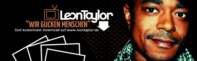 """Leon Taylor """"Wir gucken Menschen""""  FREE Download"""